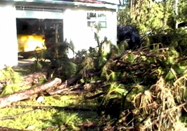 Hurricane Charley in Florida August 13, 2004