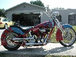 Harley Davidson Soft Tail Custom 1989