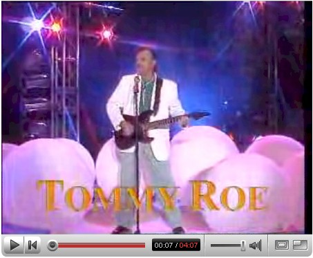 Tommy Roe playing Sheila